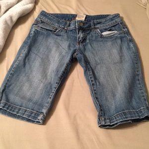 Jean Long shorts